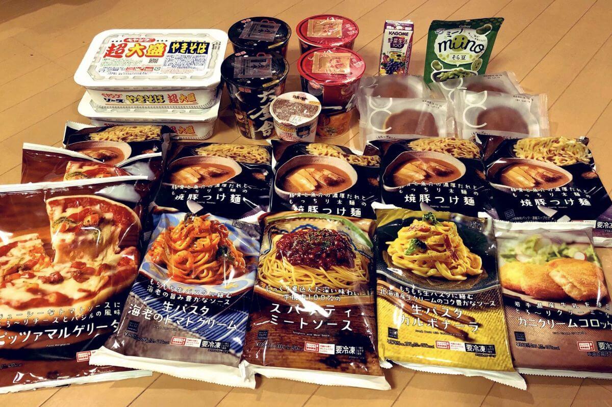 ローソンの冷凍食品、カップ麺