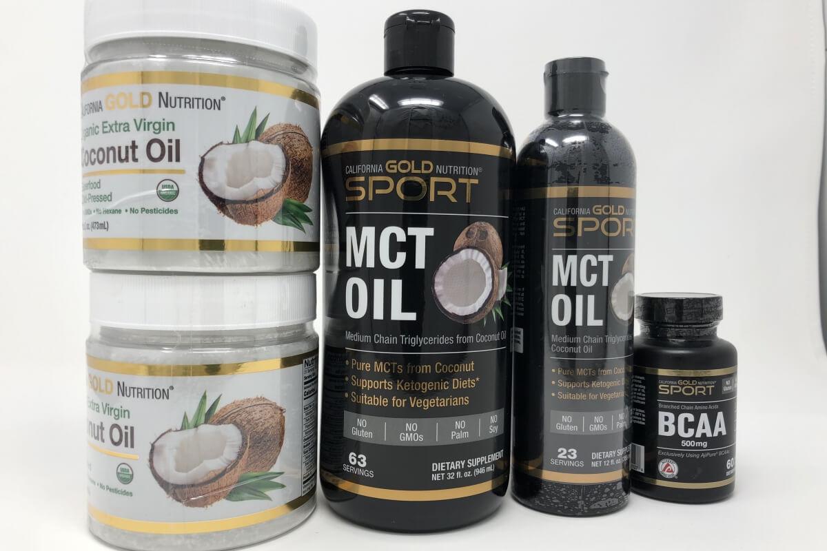 MCTオイル、ココナッツオイル