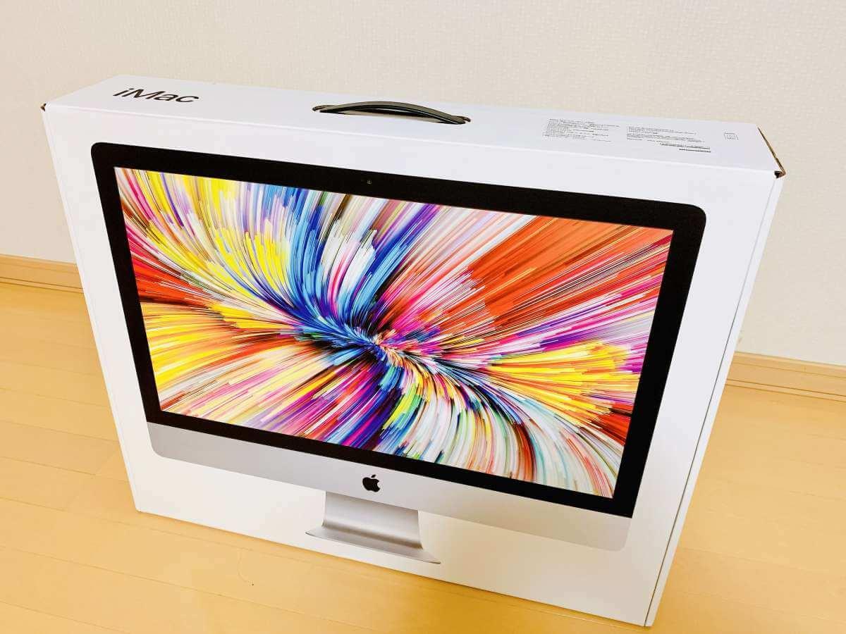 27インチiMac Retina 5Kディスプレイモデル(2020年発売モデル)