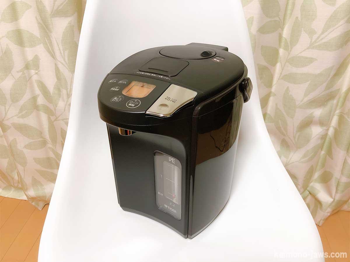 タイガー魔法瓶の電気ポット PIS-A220